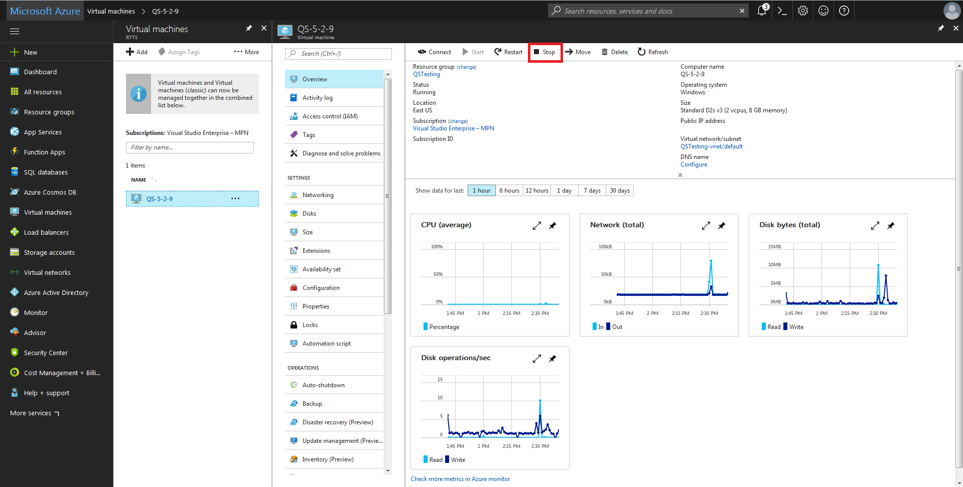 Azure (Expand Disk) – Customer Support