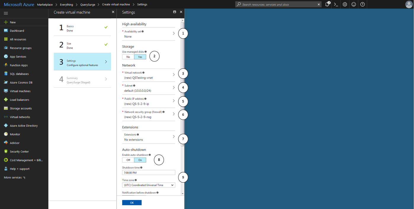 how to create a azure vm