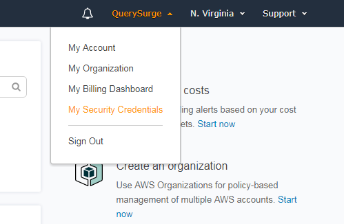 QuerySurge and Apache Drill - Amazon S3 – Customer Support