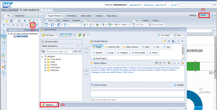 Writing SQL Queries Against SAP Business Objects WebIntelligence