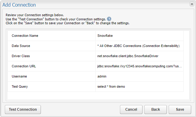 Configuring Connections: Snowflake – Customer Support