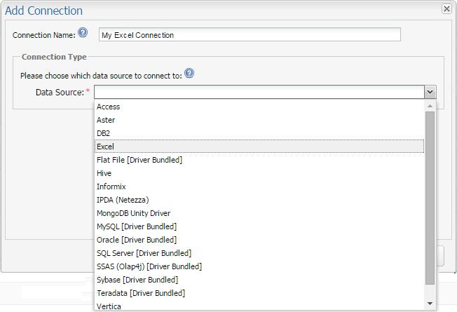 Configuring Connections: Microsoft Excel via Java's JDBC/ODBC Bridge