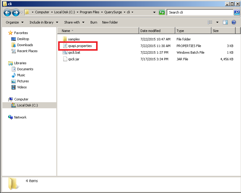 QuerySurge QC/ALM Connector with Local Host Execution \u2013 Customer Support