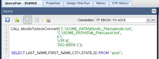 QuerySurge and Mainframe Data: EBCDIC Files – Customer Support